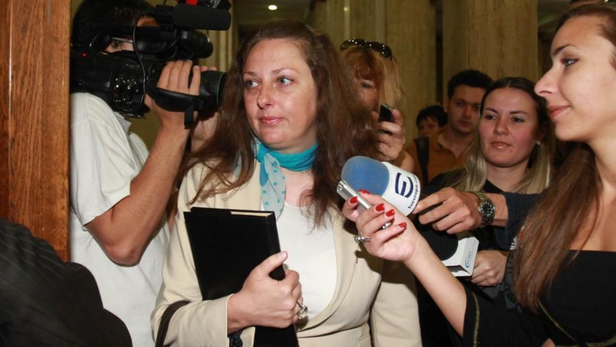 Започна делото срещу уволнената шефка на Агенцията по вписванията
