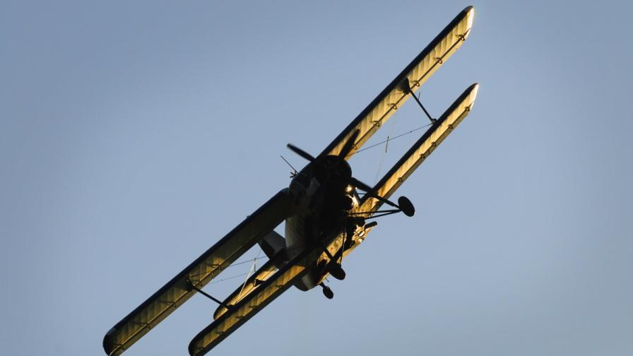 Самолет на селскостопанската авиация падна край Русе