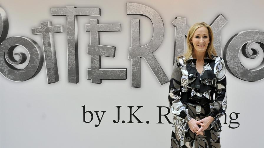 Дж. К. Роулинг пише история за Хари Потър на 33