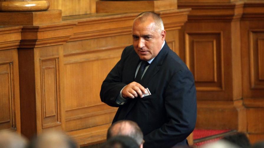 Борисов: Утре няма да се регистрираме, за да стане ясна тройната коалиция