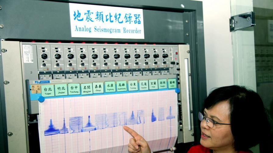 Земетресение 6,3 по Рихтер в Тайван