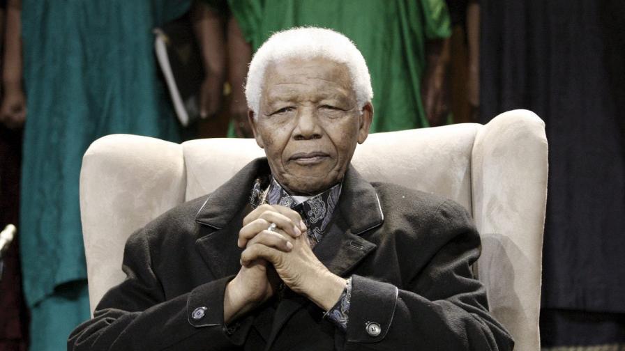 Нелсън Мандела е приет в болница