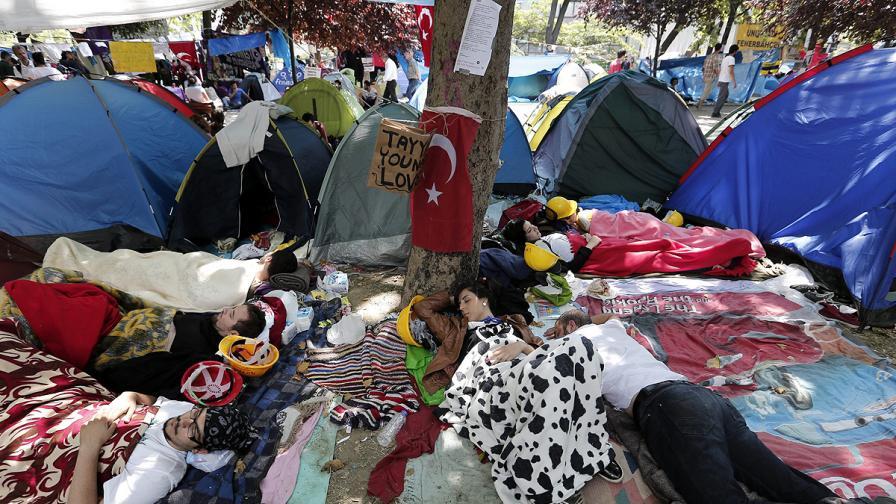 Ердоган - първо ултиматум, после среща с представители на протестиращите