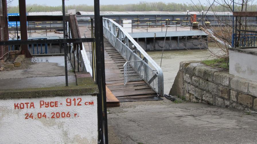 Повишава се нивото на р. Дунав в българския участък