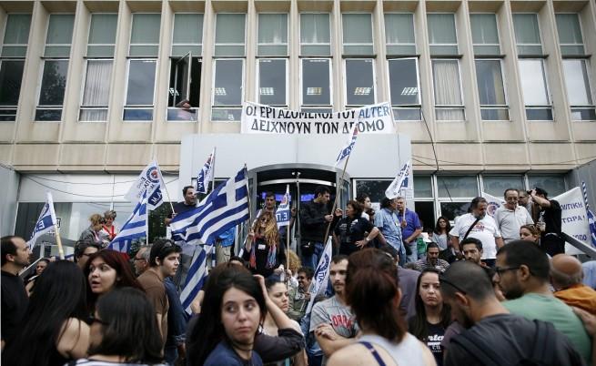 Четвърти ден продължава окупацията на ЕРТ