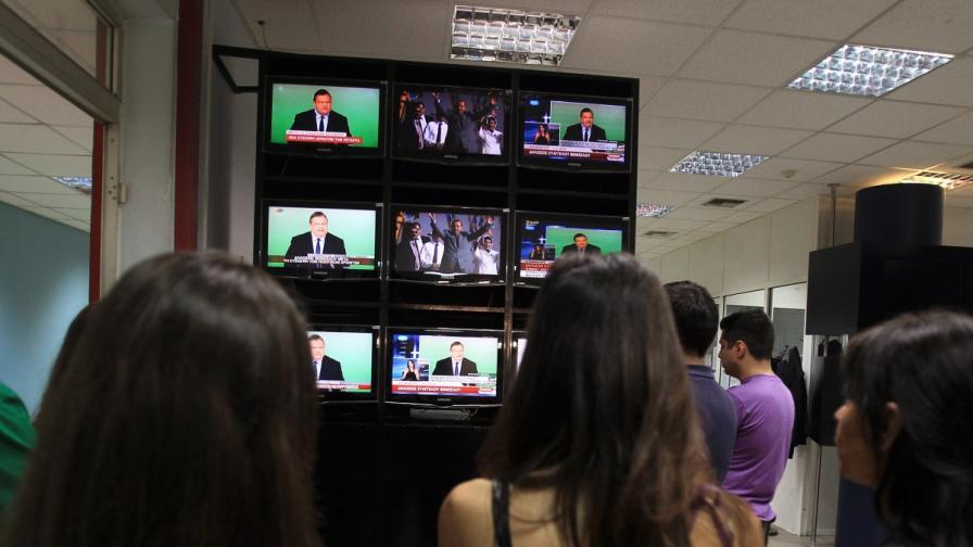 Съдът в Гърция: Държавните медии да се пуснат