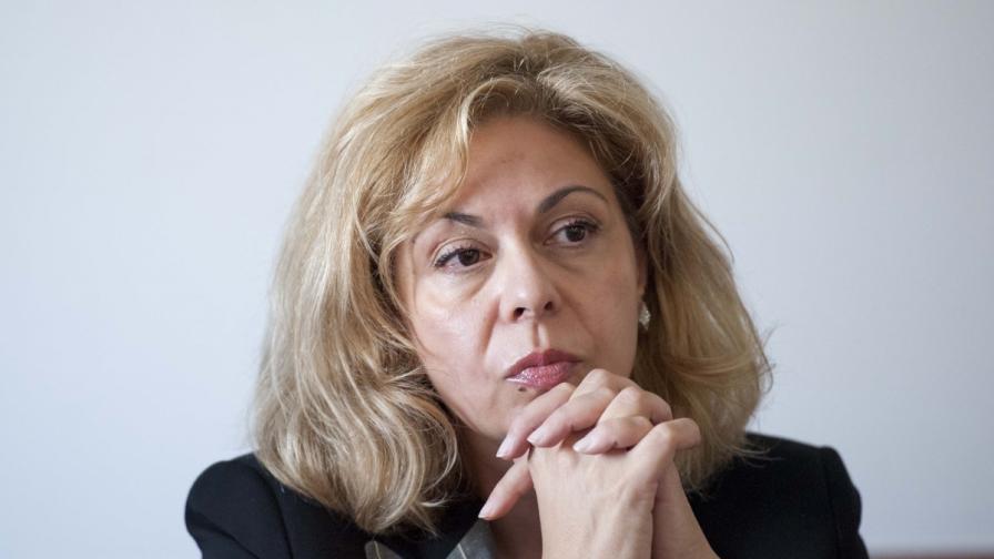 Председателят на ДКЕВР Анжела Тонева