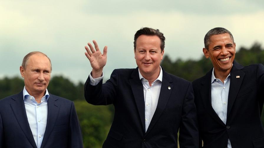Г-8: На Сирия й трябва преходно правителство в Сирия