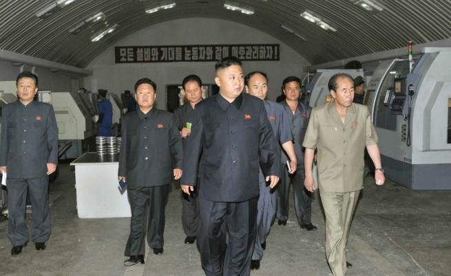 Ким Чен-ун раздал на висши служители