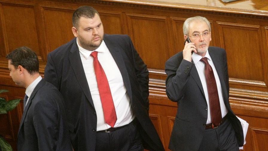 ГЕРБ поискаха КС да прекрати пълномощията на Делян Пеевски като депутат