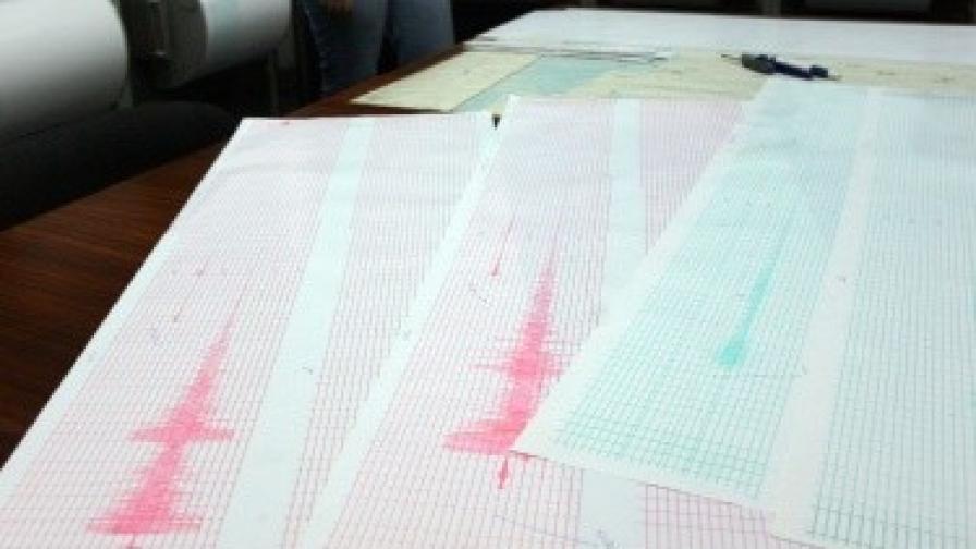 Земетресение с магнитуд 3,8 разтърси Вранча