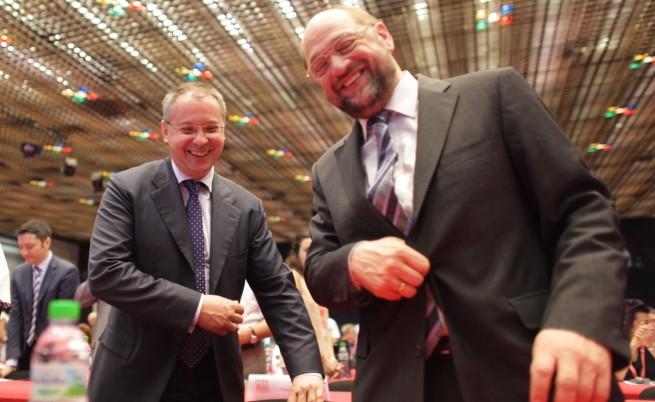 Шулц към Станишев: Гордеем се, че си ни лидер