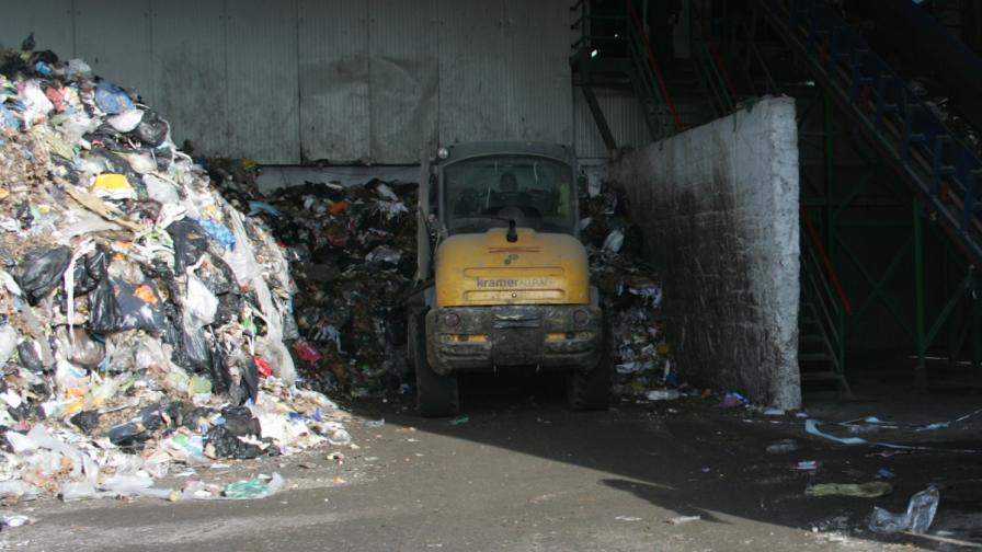 КЗК отмени класирането на фирмите за строителство на завода за отпадъци