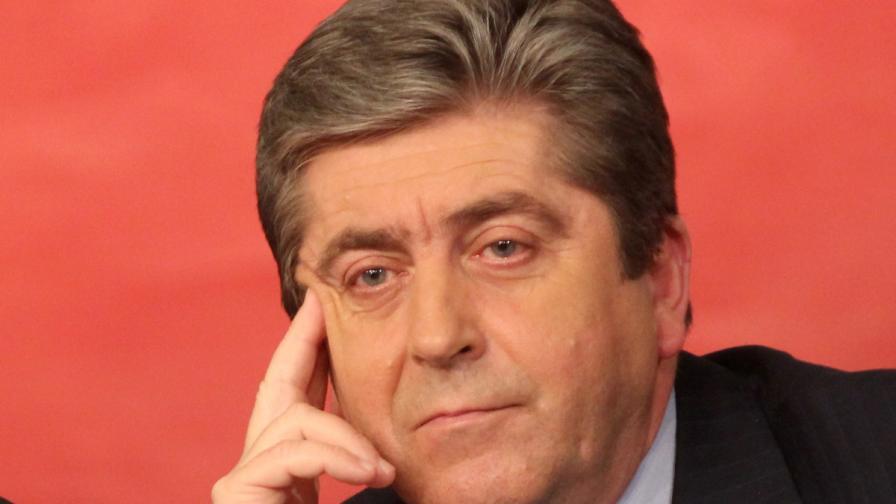 Георги Първанов: Поведението на Сидеров трябва да получи категоричен отпор