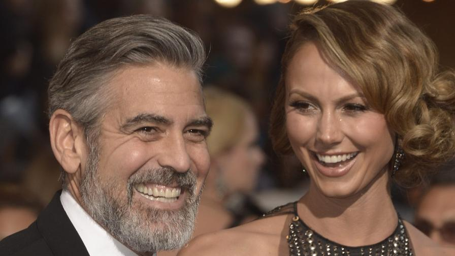 Джордж Клуни се е разделил със Стейси?