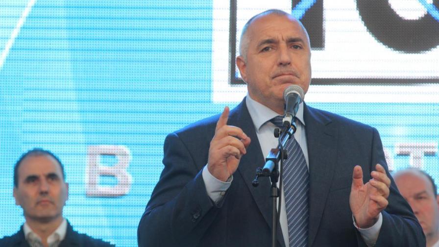Борисов: Цветан Василев финансира партия на Бареков, не Реформаторския блок