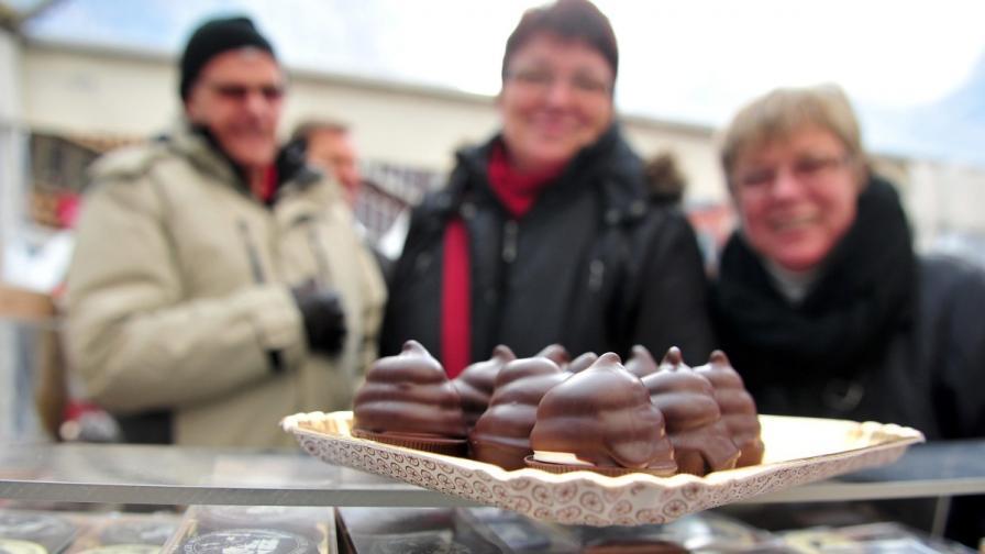 Учените откриват тумори с шоколад