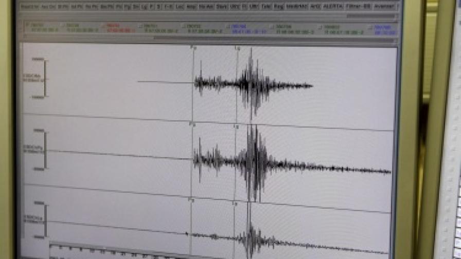 Земетресение 3,8 по Рихтер край Тополовград