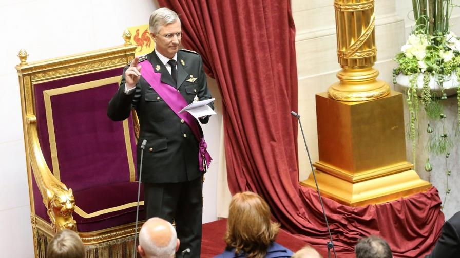 Седмият крал на Белгия се възкачи на престола