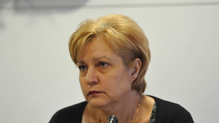 Менда Стоянова - народен представител от ГЕРБ в 42-то Народно събрание