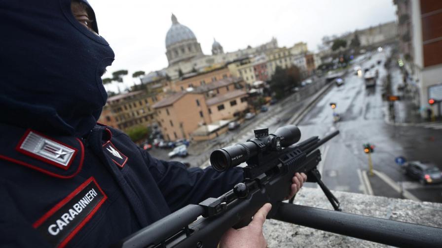 При антимафия операция в Рим задържаха 51 души