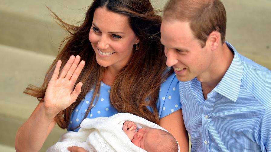 50 въоръжени полицаи ще пазят кралското бебе в новия му дом