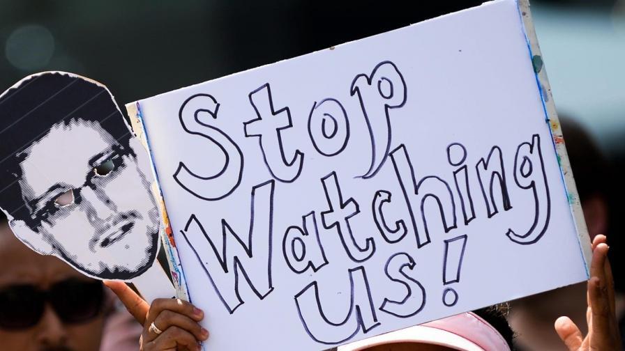 Протест във Франкфурт срещу американските програми за електронно проследяване