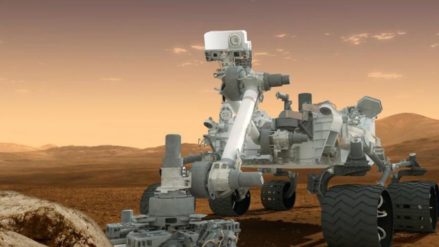 """""""Кюриосити"""" - една година на Марс"""