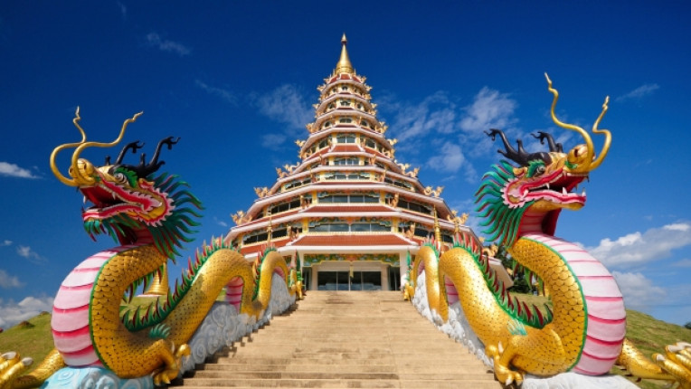 китай будизъм дракон