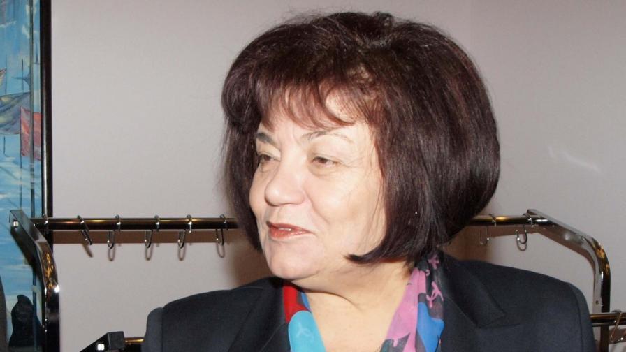Янка Такева, председател на Синдиката на българските учители при КНСБ