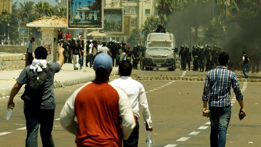 Двама журналисти са убити в Кайро вчера