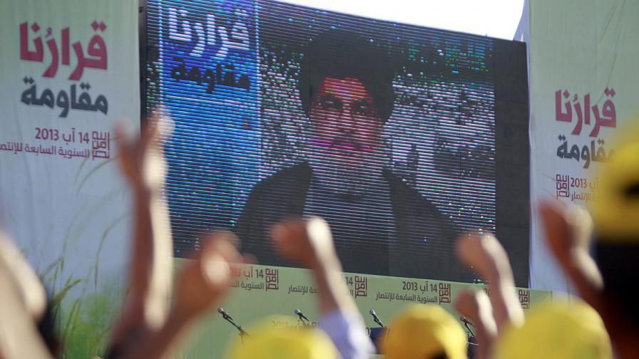"""Лидерът на """"Хизбула"""" готов лично да се сражава в Сирия"""