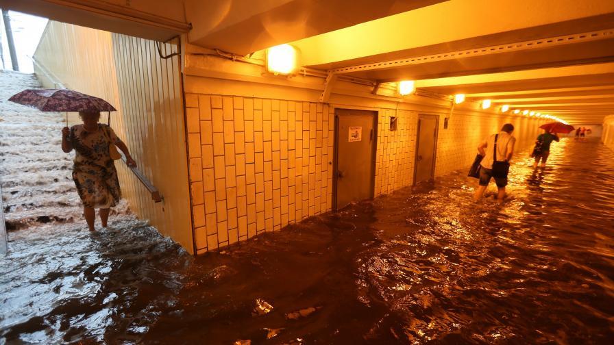 Евакуираха над 17 хил. души заради наводнения в руския Далечен изток