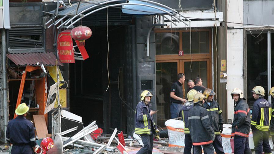 Има и тежко пострадали след взрива в Китайския ресторант