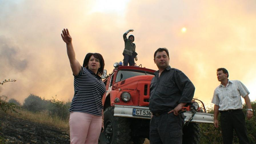 Големи пожари в Стара Загора, Харманли и Варненско