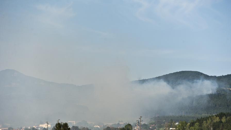 Ситуацията край село Локорско е овладяна