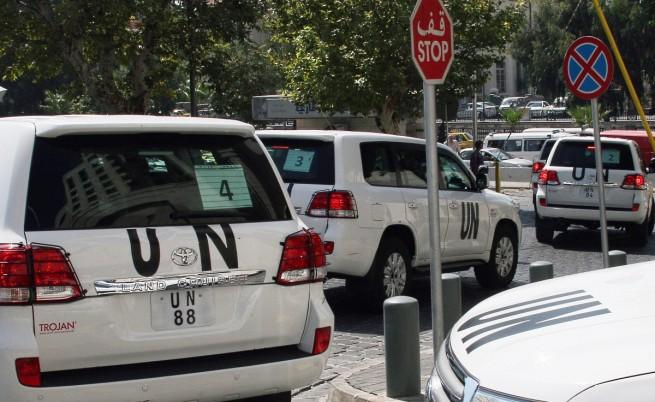 Инспекторите на ООН все пак стигнаха целта си
