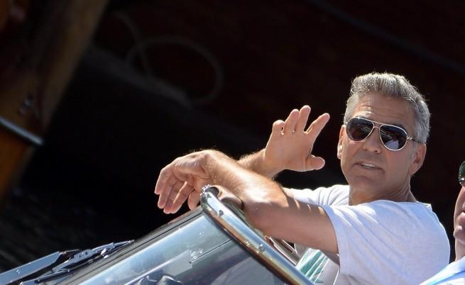 Джордж Клуни е един от актьорите, които дойдоха за тазгодишното издание