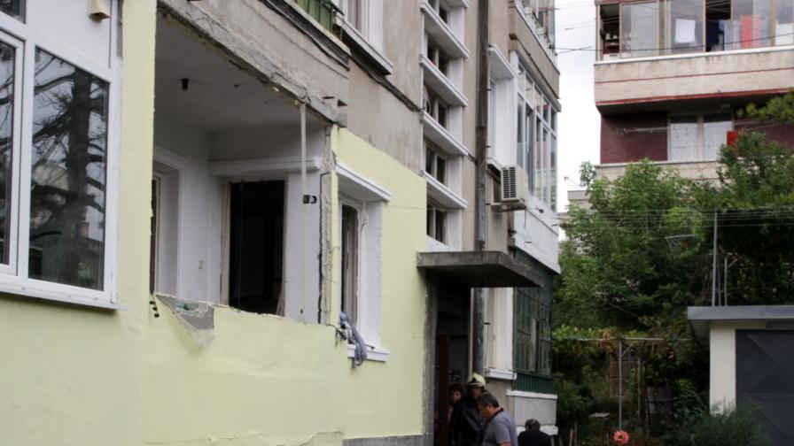 Газова бутилка се взриви в Шумен, един ранен
