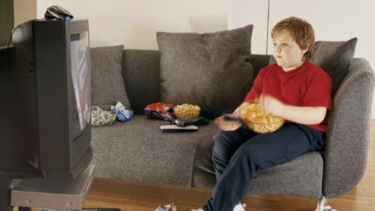 дете храна телевизия затлъстяване
