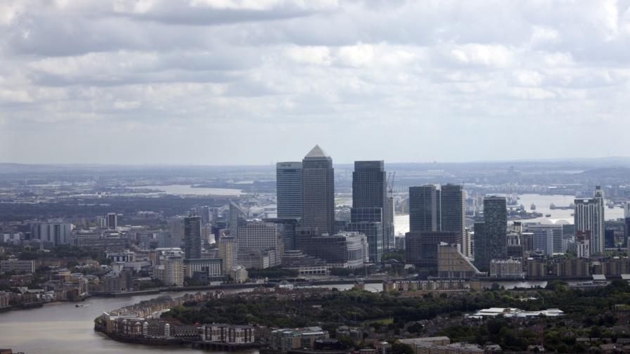 Небостъргач разтопи ягуара на лондончанин