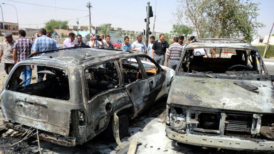 Серия атентати взе близо 50 жертви в Ирак