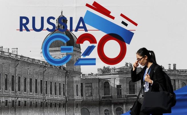 Санкт Петербург се готви като за война за домакинството на Г-20
