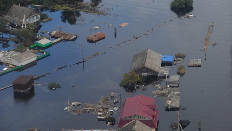 Обезщетения за пострадалите от наводненията в Русия