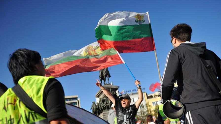 ГЕРБ: МВР репресира протестиращи