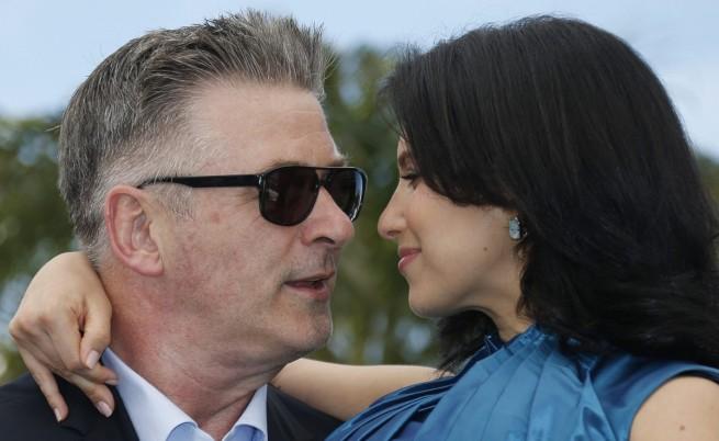 Алек Болдуин и съпругата му Хилария