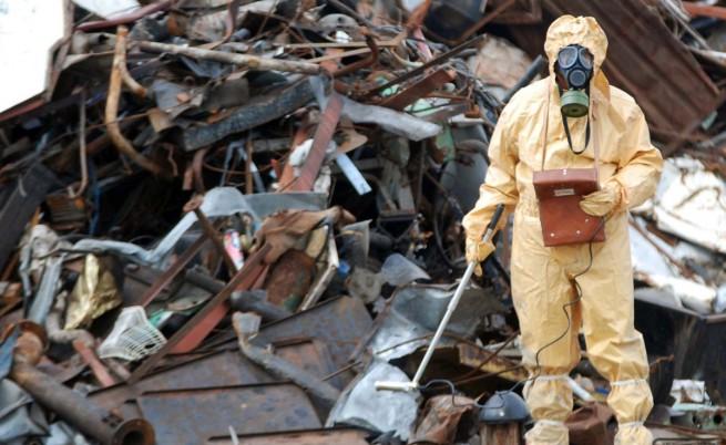Бургас: Радиоактивен източник в камион със скрап
