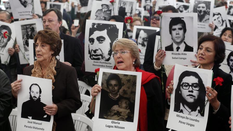 Чили отбелязва 40-годишнината от преврата на генерал Аугусто Пиночет