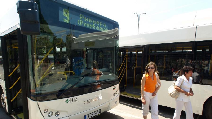 Софиянци на протест заради автобуси под прозорците им