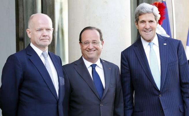 Кери, Оланд, Хейг: Ако Сирия се отметне, ще има последници